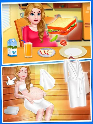 Mommy & newborn babyshower - Babysitter Game 32.0 screenshots 5