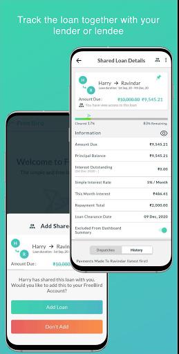 Free Bird - Simple Debt Tracker Apkfinish screenshots 8
