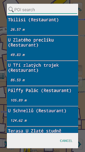 Map of Prague offline