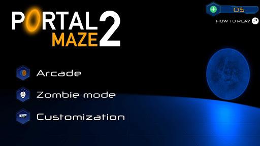 Portal Maze 2 - Aperture spacetime jumper games 3d 2.8 Screenshots 10