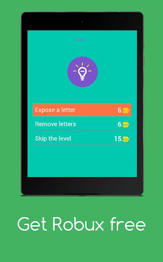 Get Robux Free - Quiz 2021  screenshots 11