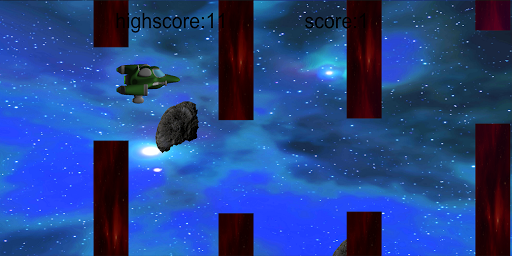 clumsy silly spaceship screenshot 2