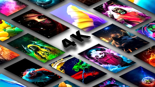 4K Wallpapers - 3D Parallax, Live & HD Background 4.2
