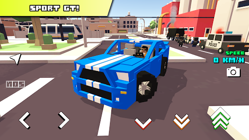 Blocky Car Racer - racing game 1.36 screenshots 1