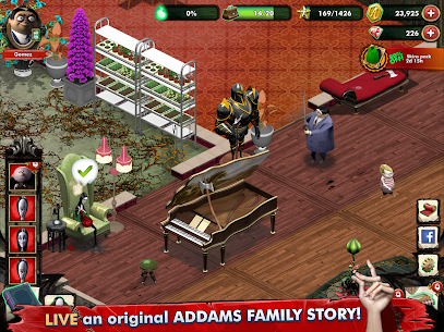 Addams Family: Mystery Mansion MOD APK 0.3.6 (Unlimited Coin) 6