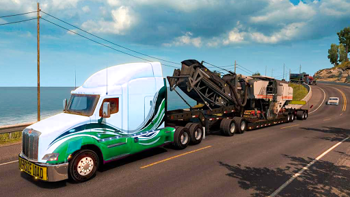 US Heavy Modern Truck: Grand Driving Simulator 3D  screenshots 9