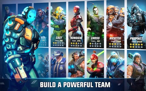 Hero Hunters MOD 4.12 (Unlimited Money and Gold) 1