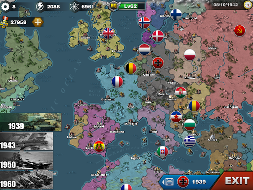 World Conqueror 3  - WW2  Strategy game  screenshots 8