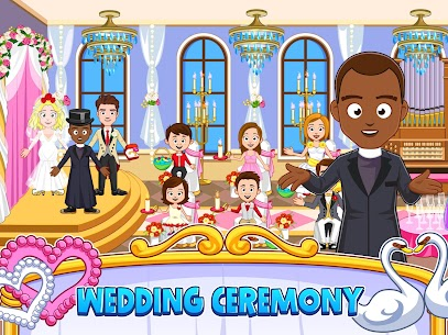 My Town : Wedding Bride Game for Girls Free (MOD, Unlimited Money) For Android 9