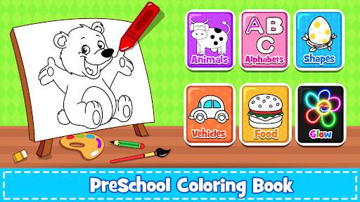 Coloring Games : PreSchool Coloring Book for kids 4.0 screenshots 8