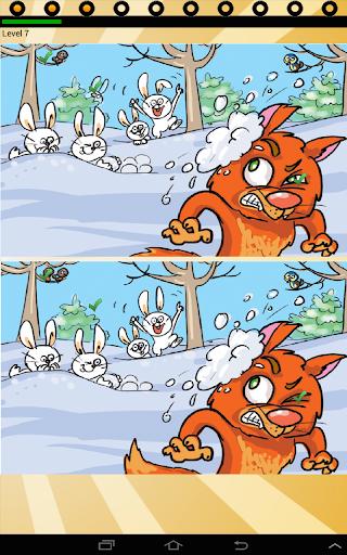 find ten differences animals screenshot 3