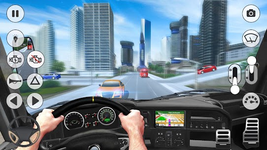 Coach Bus Simulator  Bus Games Apk 5