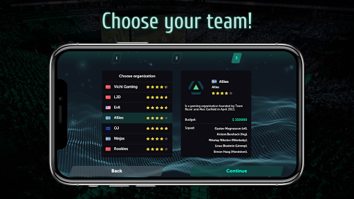 Esports Manager Simulator apk 1.0.58 screenshots 3