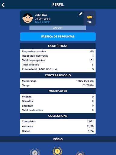 Super Quiz - Cultura Geral Portuguu00eas 6.10.5 screenshots 16