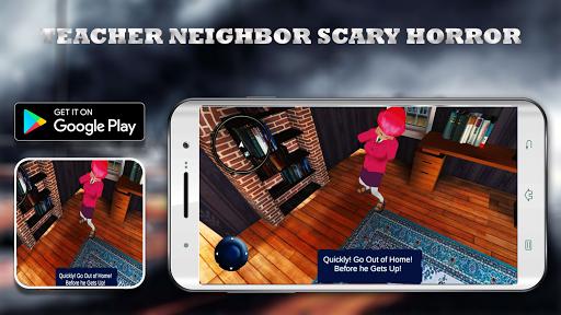 Scary Neighbor Teacher Scientist apkslow screenshots 1