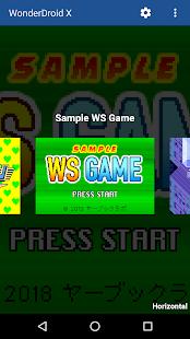 WonderDroid X – Emulator for WSC Games 3.2 screenshots 1