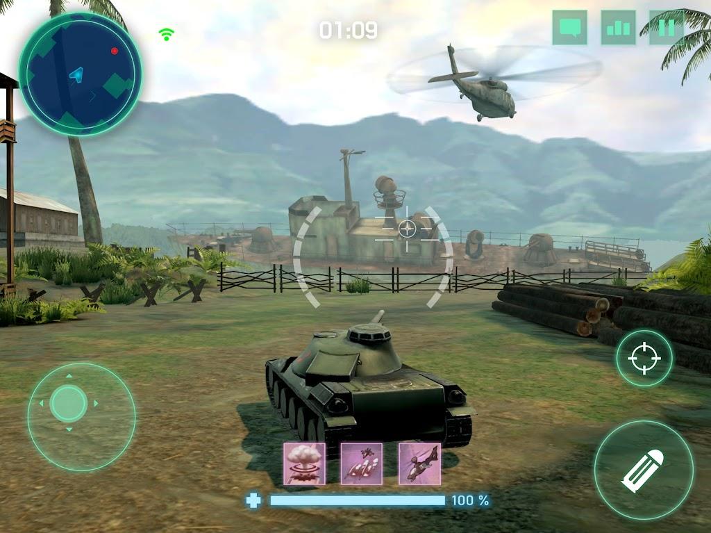 War Machines: Tank Army Game poster 11