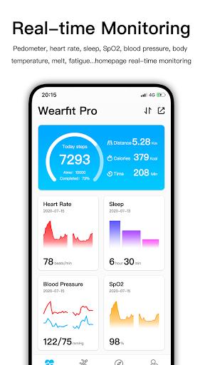 Wearfit Pro  screenshots 1