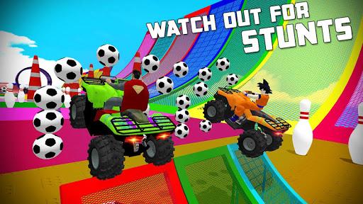 ATV Quads Superheroes Stunts Racing screenshots 3