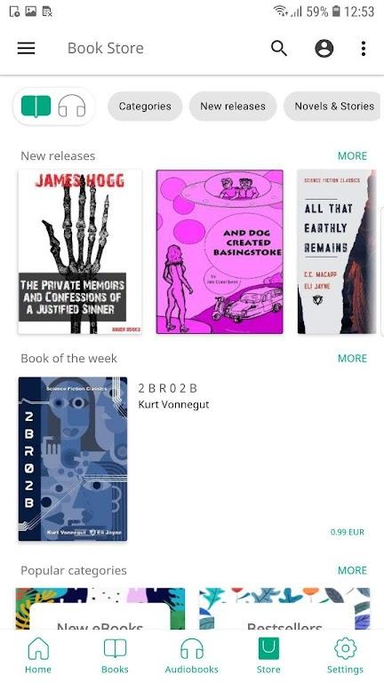PocketBook reader free reading epub, pdf, cbr, fb2 poster 7