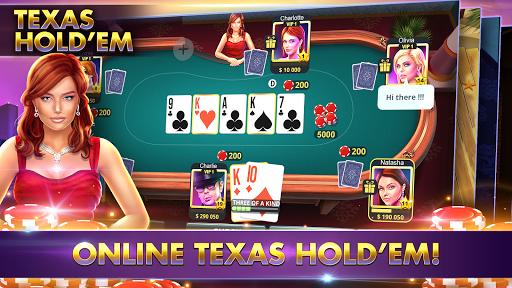 POKER, SLOTS - Huge Jackpot - Texas Holdem Poker  screenshots 2