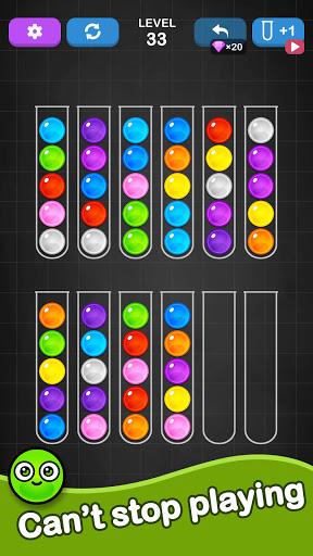Ball Sort Puzzle - Color Sorting Balls Puzzle 1.1.0 screenshots 13