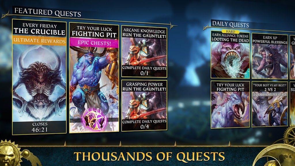 Warhammer Quest: Silver Tower -Turn Based Strategy poster 2