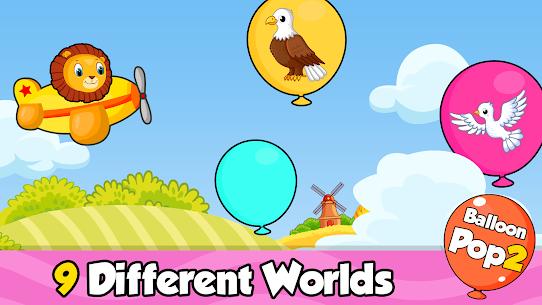 Balloon Pop : Toddler Games for preschool kids 3