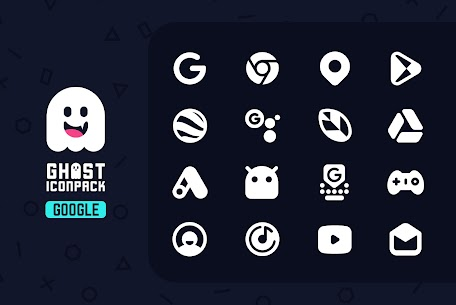 Ghost IconPack Mod Apk v1.2 (Patched) 3