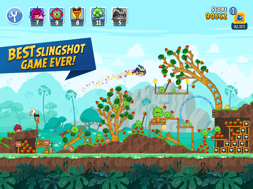 Angry Birds Friends poster 7