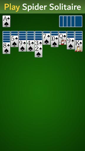 Spider Solitaire u2013 Free Card Game 4.7 screenshots 1