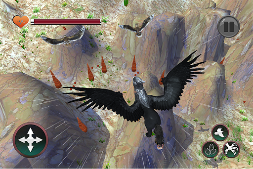 Wild Griffin Family Flying Eagle Simulator  screenshots 2