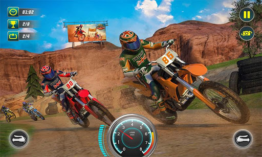 Xtreme Dirt Bike Racing Off-road Motorcycle Games  screenshots 2
