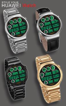 F05 WatchFace for Android Wearのおすすめ画像2