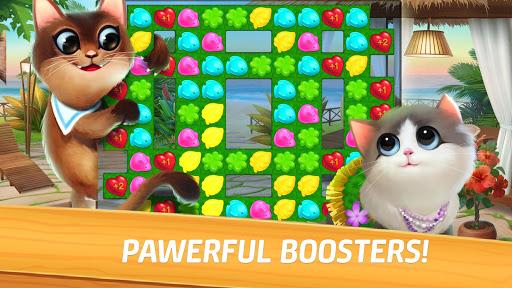 Meow Match: Cats Matching 3 Puzzle & Ball Blast Apkfinish screenshots 10