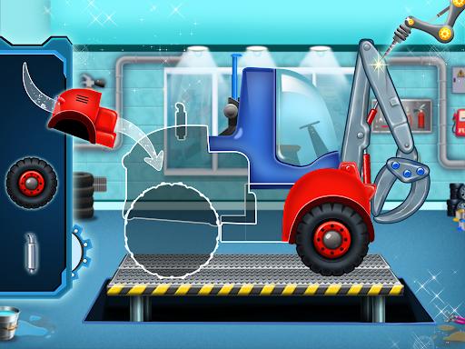 Home Builder - Truck cleaning & washing game  screenshots 1