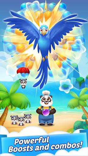 Bubble Shooter Cooking Panda  screenshots 2