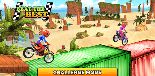 Bike Beach Game: 3D Stunt & Racing Motorcycle Game  screenshots 5