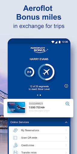Aeroflot u2013 buy air tickets online 4.4.0.606 Screenshots 3