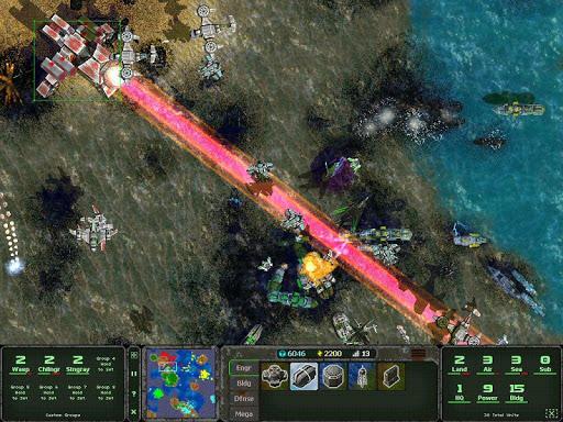 Land Air Sea Warfare RTS  screenshots 7