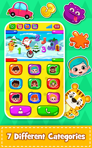 Baby Phone for toddlers - Numbers, Animals & Music 3.3 screenshots 6