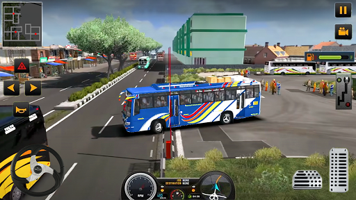 Modern Heavy Bus Coach: Public Transport Free Game 0.1 screenshots 2