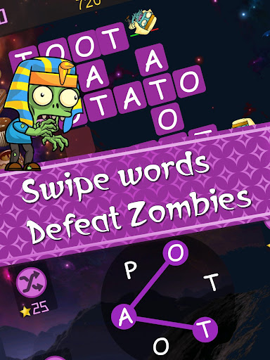 Words vs Zombies - fun word puzzle game apkmr screenshots 8