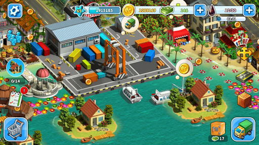 Eco City: new free building and town village games 1.0.453 screenshots 5