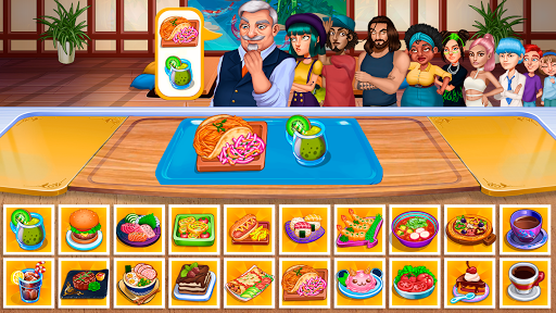 Cooking Fantasy: Be a Chef in a Restaurant Game apkmr screenshots 3