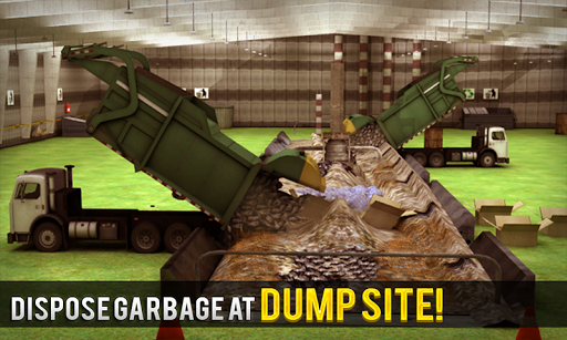 Garbage Dumper Truck Simulator 1.3 screenshots 4