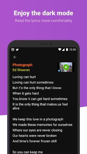 Letras - Song lyrics and translations android2mod screenshots 7