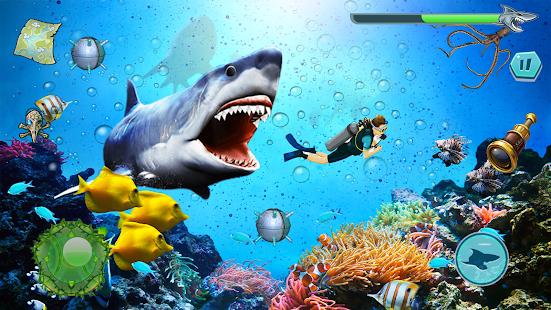 Angry Shark Attack - Wild Shark Game 1.0.14 screenshots 11