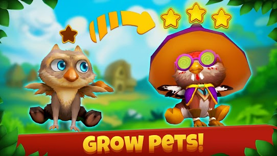 Epic Pets: Match 3 story with fashion animals 1