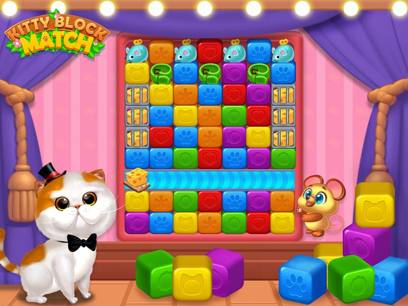 Kitty Block Match